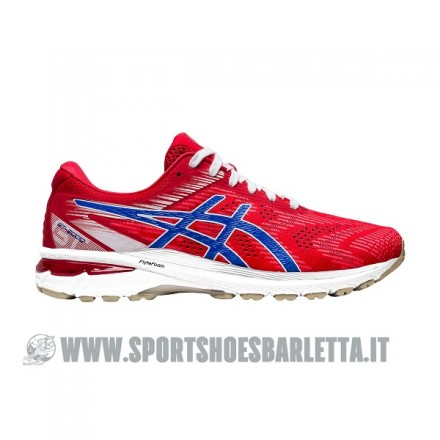 ASICS GT 2000 8 CLASSIC RED/ELECTRIC BLUE