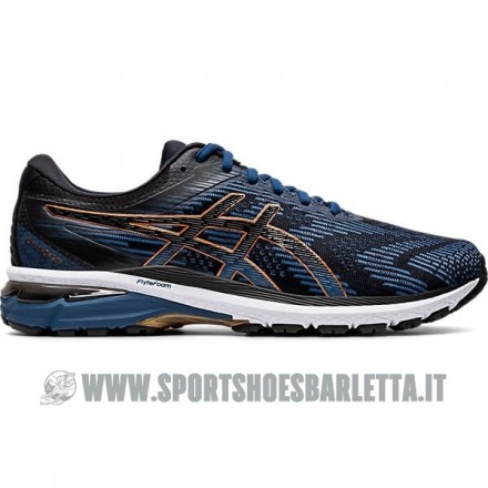 ASICS GEL NIMBUS 19 Donna DIVA BLUE/FLASH CORAL/AQUA SPLASH