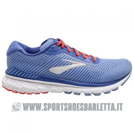 BROOKS ADRENALINE GTS 20 donna BLUE/CORAL/SILVER