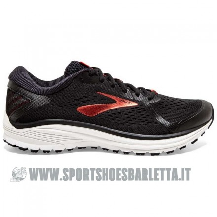 BROOKS ADURO 6 Black/Cherry/White