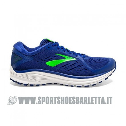 BROOKS LAUNCH 4 donna BLUE RADIANCE/PATRIOT BLUE/VIRTUAL PINK