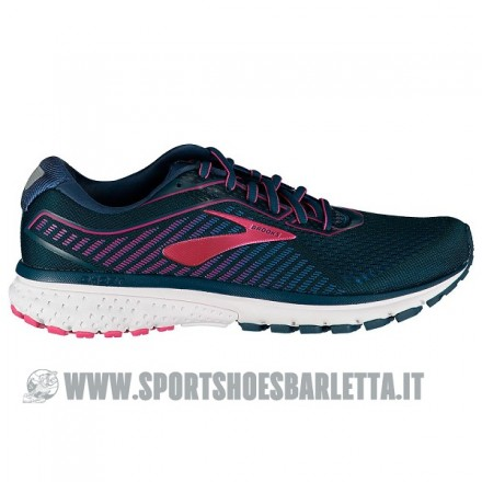 BROOKS GHOST 12 donna Majolica/Blue/Beetroot