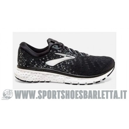 BROOKS GLYCERIN 17 Black/Ebony/Silver
