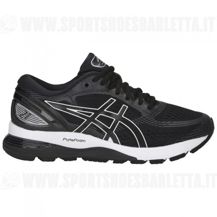 ASICS GEL NIMBUS 21 donna BLACK/GREY