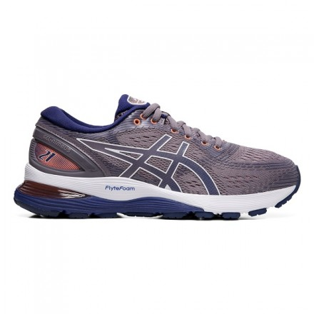 ASICS GEL NIMBUS 21 donna LAVENDER GREY/ BLUE