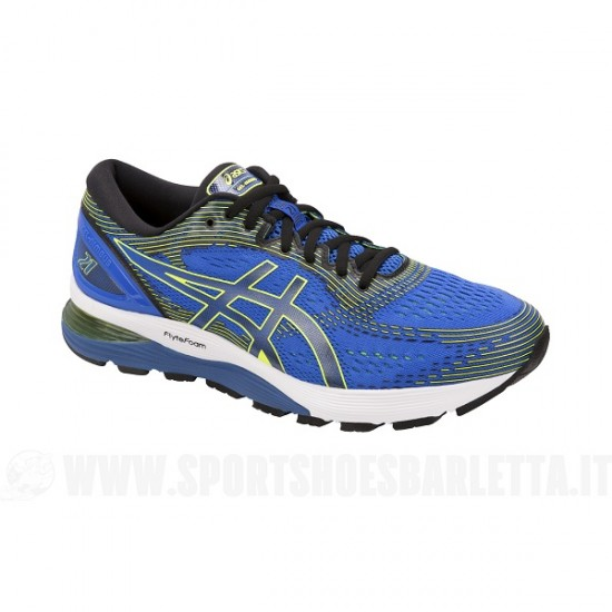 ASICS GEL NIMBUS 21 ILLUSION BLUE/BLACK
