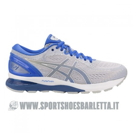 ASICS GEL NIMBUS 21 LITE-SHOW GREY/ILLUSION BLUE