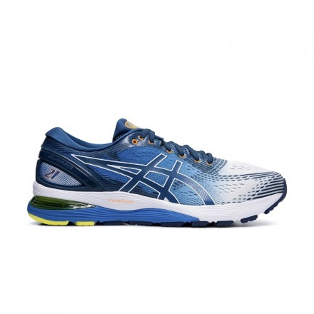 ASICS GEL NIMBUS 21 WHITE/BLUE