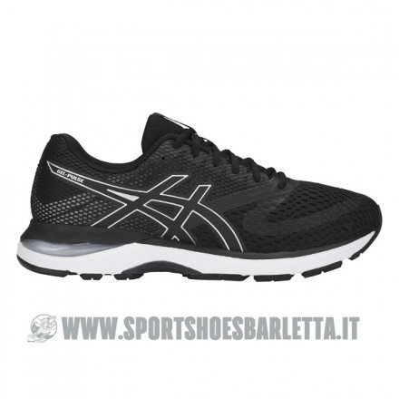 ASICS GEL PULSE 10 BLACK/SILVER