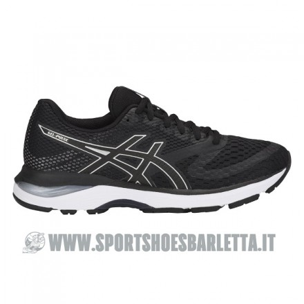 ASICS GEL PULSE 10 donna BLACK/WHITE