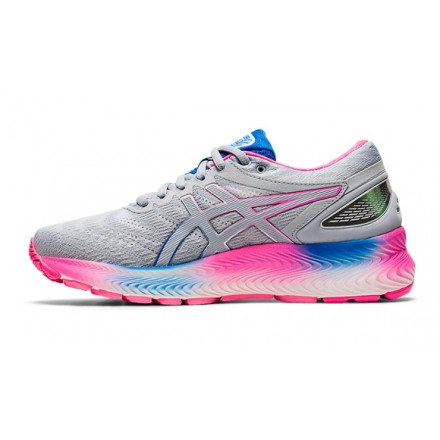 ASICS GEL CUMULUS 19 donna BLUE PURPLE/BLACK/FLASH CORAL