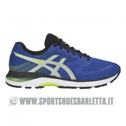 ASICS GEL PULSE 10 IMPERIAL/SILVER