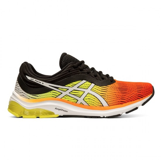 ASICS GEL PULSE 11 ORANGE/BLACK