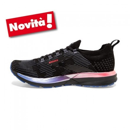 BROOKS GHOST 10 donna DIVA PINK/BLACK/ICELAND BLUE