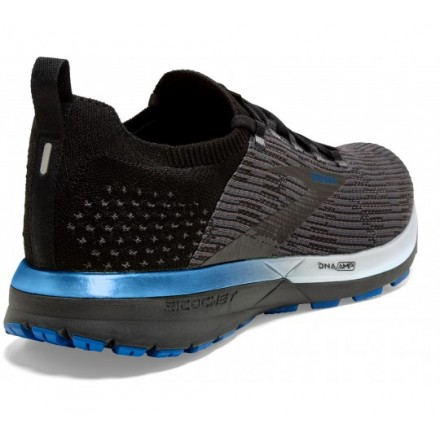 BROOKS GLYCERIN 15 donna BLACK/ISLAND BLUE/DIVA PINK