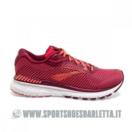 BROOKS ADRENALINE GTS 20 donna RED/CORAL