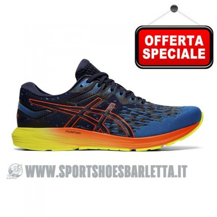ASICS DYNAFLYTE 4 PEACOAT/FLASH CORAL