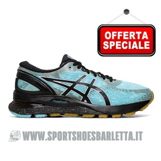 ASICS GEL NIMBUS 21 WINTERIZED donna ICE MINTBLACK