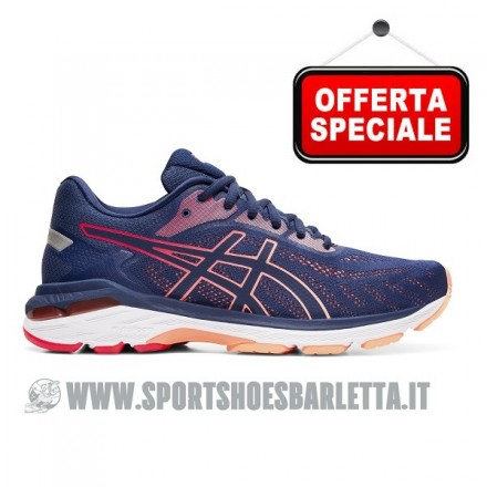 ASICS GEL NIMBUS 19 RED/NAVY