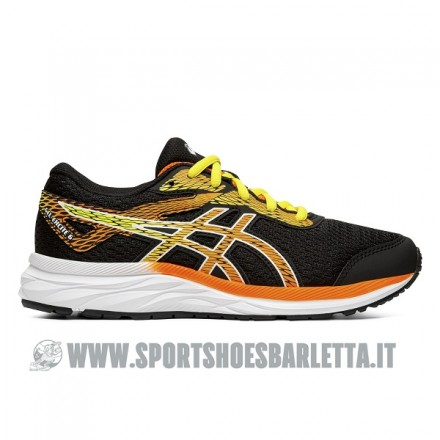 ASICS GEL-EXCITE 6 GS BLACK/ORANGE