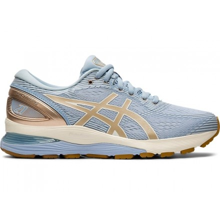 ASICS Gel-Nimbus 21 Donna Mist/Frosted Almond