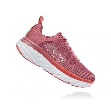 HOKA ONE ONE BONDI 6 donnaHEATHER ROSE / LANTANA
