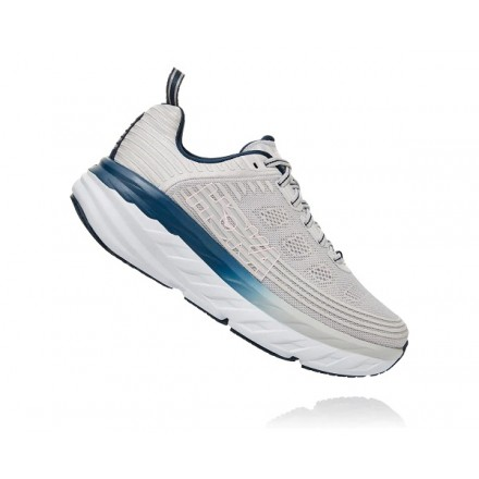 HOKA ONE ONE BONDI 6 donnaLUNAR ROCK / NIMBUS CLOUD