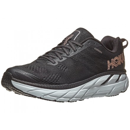 HOKA ONE ONE CLIFTON 6 donnaBLACK/ROSE GOLD