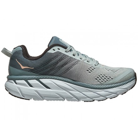 HOKA ONE ONE CLIFTON 6 donna Lead/Sea Foam