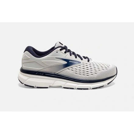 BROOKS DYAD 11 GREY/PEACOATWIDE 2E