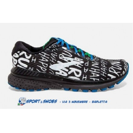 BROOKS ADRENALINE GTS 20 RUN HAPPY BLACK/WHITE
