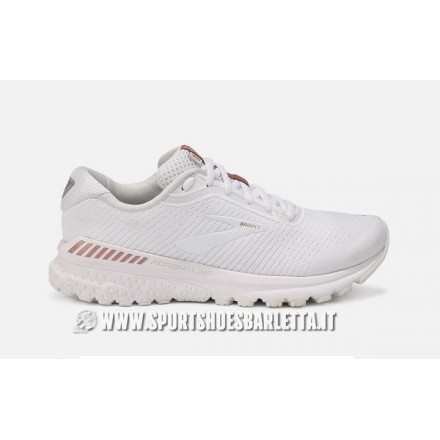 BROOKS ADRENALINE GTS 20 donna WHITE/ROSE GOLD