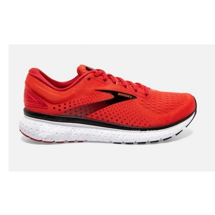 BROOKS GLYCERIN 18 CHERRY TOMATO/SAMBA/BLACK