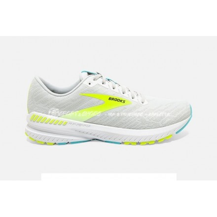 BROOKS RAVENNA 11 WHITE/NIGHTLIFE/CAPRI