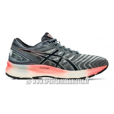 ASICS GEL-NIMBUS LITECARRIER GREY/BLACK - UOMO