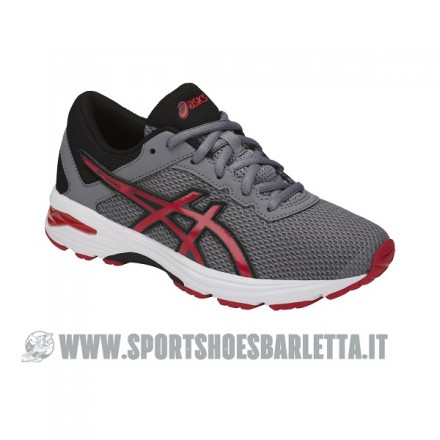 ASICS GT 1000 6 GS GREY/RED