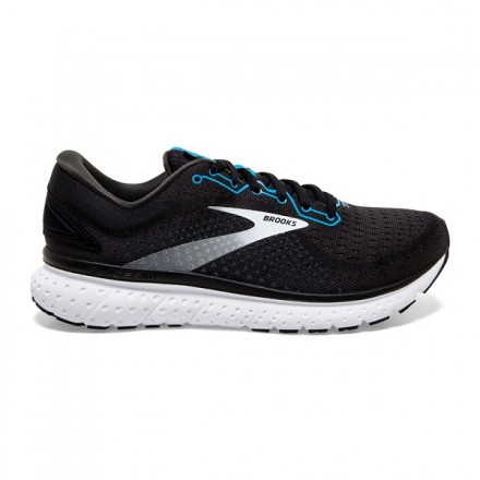 BROOKS GLYCERIN 18 UOMOBlack/Atomic Blue/White