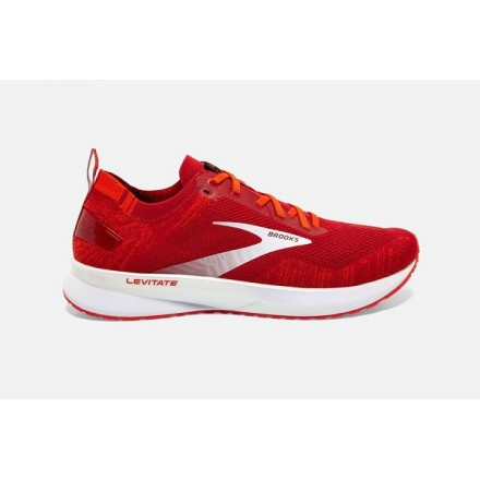 BROOKS LEVITATE 4 UOMORed/Cherry Tomato/White