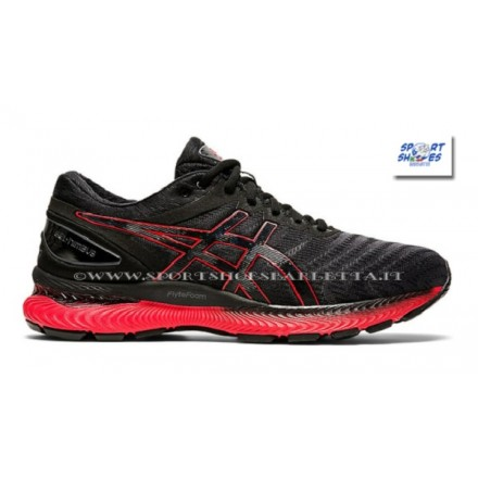 ASICS GEL CUMULUS 19 donna BLACK/SILVER/PINK PEACOCK