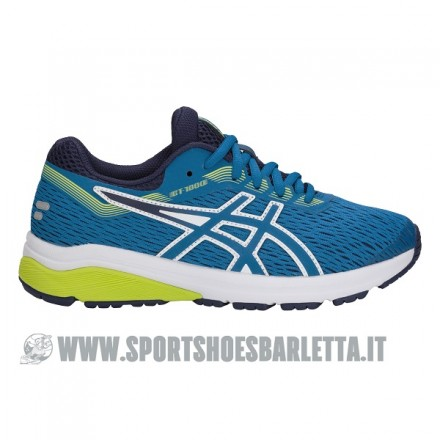 ASICS GT 1000 7 GS BLUE/LIME