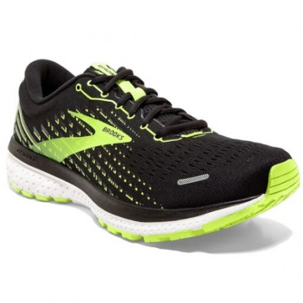 BROOKS GHOST 13 UOMO BLACK/NIGHTLIFE/WHITE