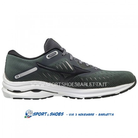 MIZUNO WAVE RIDER 24 UOMOCASTLEROCK/PHANTOM/ORANGE