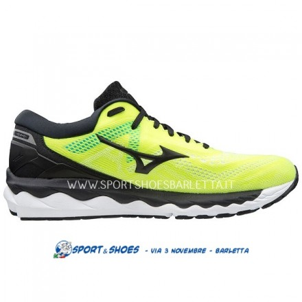 MIZUNO WAVE SKY 4 UOMOYELLOW/BLACK