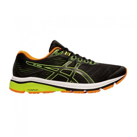 ASICS GT 1000 8 BLACK/SAFETY YELLOW