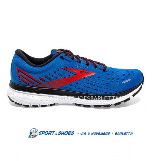 BROOKS GHOST 13 UOMOBlue/Red/White