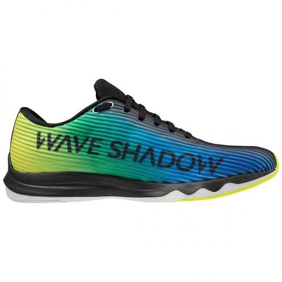 MIZUNO WAVE SHADOW 4 BLACK/BLUE/YELLOW