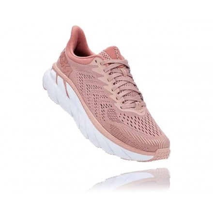 HOKA ONE ONE CLIFTON 7 DONNAMISTY ROSE / CAMEO BROWN