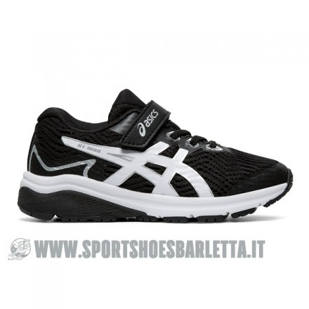 ASICS GT-1000 8 PS BLACK/WHITE