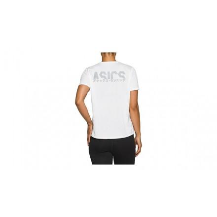 ASICS KATAKANA SS TOP BRILLIANT WHITE - DONNA