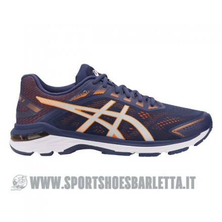 ASICS GT-2000 7 BLUE/ORANGE